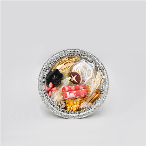 99 Aluminium Foil Round Tray 1000ml For Food Package Cooking