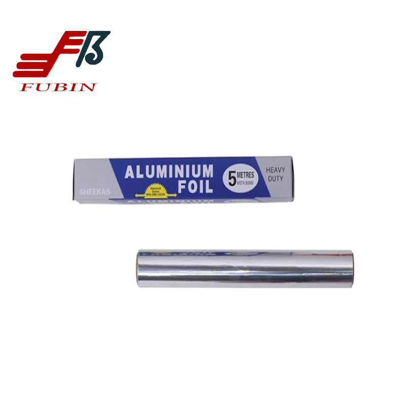 5M Aluminium Foil Roll For Food Packaging Microwavable