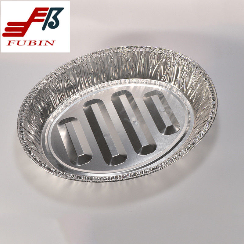 Airplane 475x335mm Aluminum Foil Loaf Pans Customized